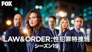 LAW & ORDER: 性犯罪特捜班 シーズン19の紹介
